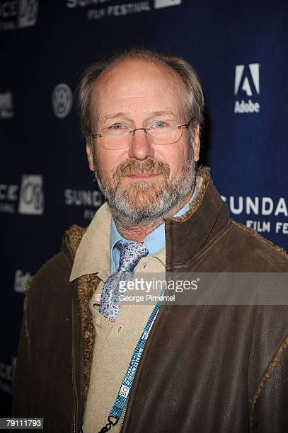 Actor William Hurt attends the premiere of The Yellow Handkerchief during the 2008 Sundance Film Festival at the Eccles Theatre on January 18 2008 in...