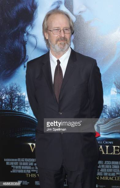 Actor William Hurt attends the 'Winter's Tale' world premiere at Ziegfeld Theater on February 11 2014 in New York City