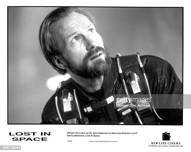 Actor William Hurt on set of the New Line Cinema movie ' Lost in Space ' circa 1998
