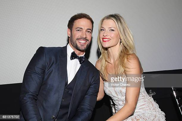 Actor William Levy and actress Ali Larter attend the Resident Evil The Final Chapter Mexico City premiere at Cinemex Antara Polanco on January 9 2017...