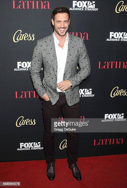 Actor William Levy arrives at LATINA Magazine Hollywood Hot List party at Sunset Tower Hotel on October 2 2014 in West Hollywood California