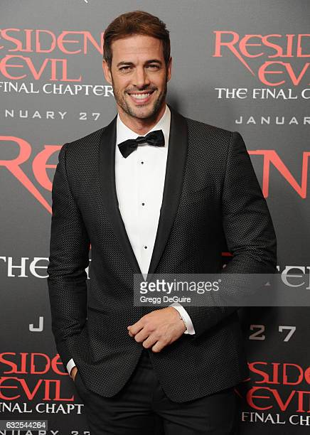 Actor William Levy arrives at the premiere of Sony Pictures Releasing's Resident Evil The Final Chapter at Regal LA Live A Barco Innovation Center on...