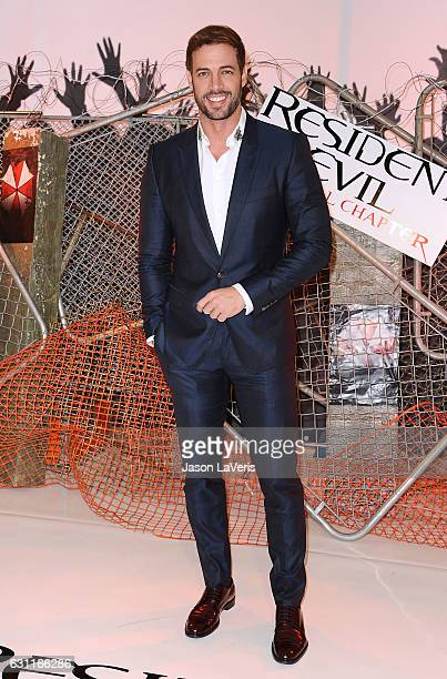Actor William Levy attends a photo call for Resident Evil The Final Chapter at The London Hotel on January 7 2017 in West Hollywood California