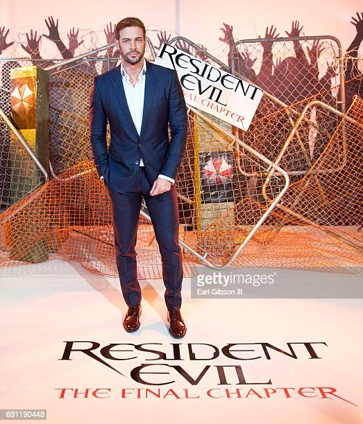 Actor William Levy attends the photo call for Sony Pictures Releasing's Residnet Evil The Final Chapter at The London Hotel on January 7 2017 in West...