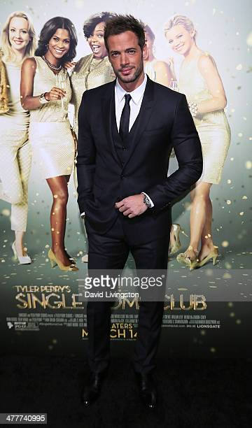 Actor William Levy attends the premiere of Tyler Perry's 'The Single Moms Club' at the ArcLight Cinemas Cinerama Dome on March 10 2014 in Hollywood...
