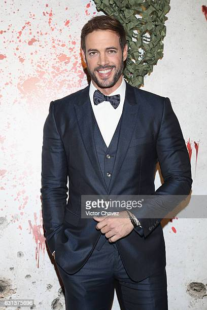 Actor William Levy attends the Resident Evil The Final Chapter Mexico City premiere at Cinemex Antara Polanco on January 9 2017 in Mexico City Mexico
