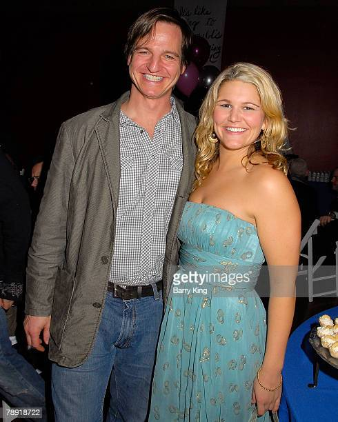 LOS ANGELES CA JANUARY 11 Actor William Mapother and acttress Annie Hendy attend Venice Magazine's after party for The Catholic Girl's Guide to...