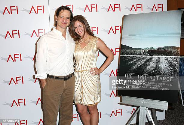 Actor William Mapother and director Anne Hamilton attends the AFI Directing Workshop for Women Showcase at the Directors Guild Of America on April 29...