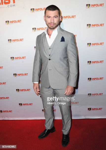 Actor William McCullough attends the INFOListcom's PreOscar Soiree and Jeff Gund Birthday Party held at Mondrian Sky Bar on February 27 2018 in West...