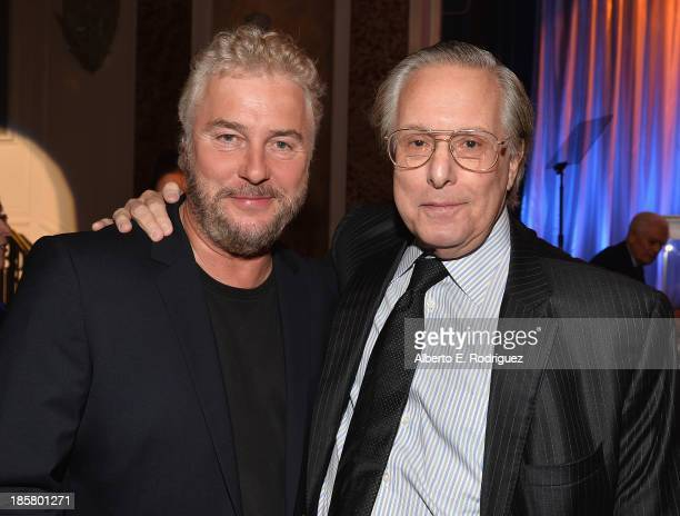 Actor William Petersen and director William Friedkin attend the 2013 UCLA Neurosurgery Visionary Ball at the Beverly Wilshire Four Seasons Hotel on...