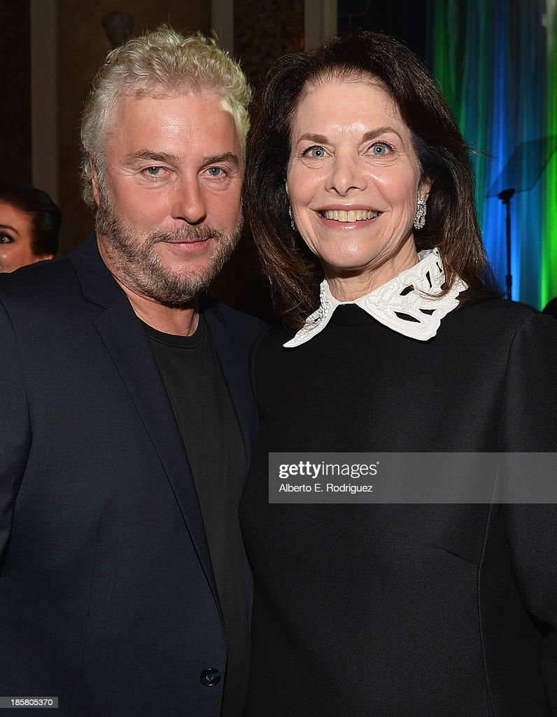 Actor William Petersen and Sherry Lansing attend the 2013 UCLA Neurosurgery Visionary Ball at the Beverly Wilshire Four Seasons Hotel on October 24, 2013 in Beverly Hills, California.