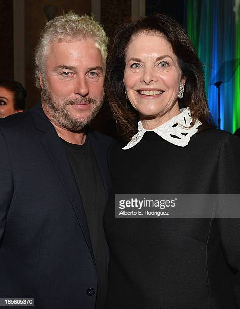 Actor William Petersen and Sherry Lansing attend the 2013 UCLA Neurosurgery Visionary Ball at the Beverly Wilshire Four Seasons Hotel on October 24...