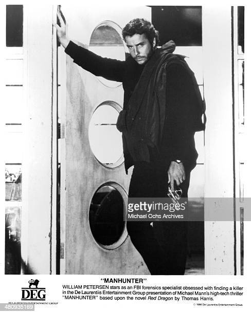 Actor William Petersen in a scene from the movie ' Manhunter' circa 1986