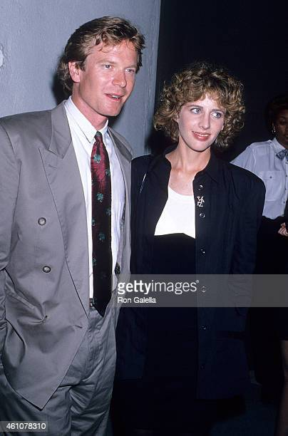 Actor William R Moses and actress Tracy Nelson attend Julie Andrews OneWoman Concert Tour on July 21 1989 at the Greek Theatre in Hollywood California