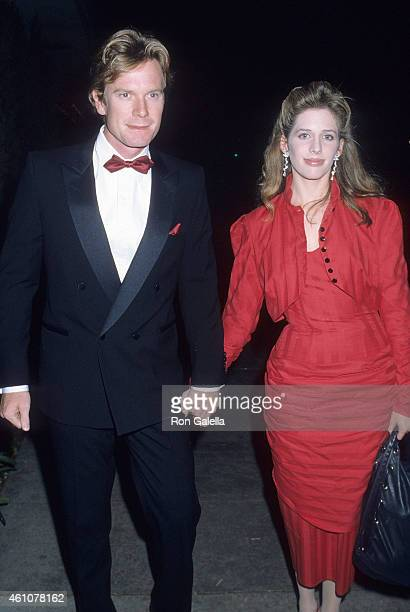Actor William R Moses and actress Tracy Nelson attend the National Organization for Women's 20th Anniversary Celebration on December 1 1986 at the...
