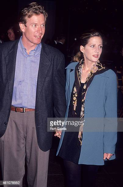 Actor William R Moses and actress Tracy Nelson attend the WGA/DGA Preston Sturgess Award Salute to Blake Edwards on October 24 1993 at the DGA...