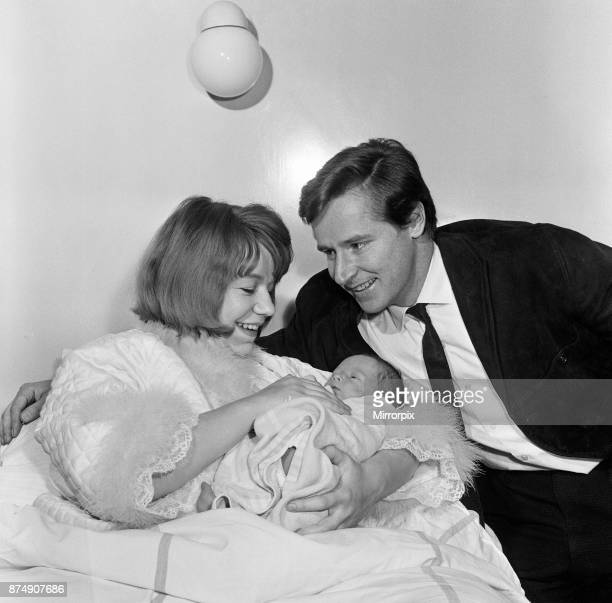 Actor William Roache and his wife Anna with their newborn son Linus 12th February 1964