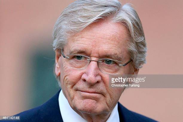 Actor William Roache arrives at Preston Crown Court for the sixth day of his trial over historical sexual offence allegations on January 21 2014 in...
