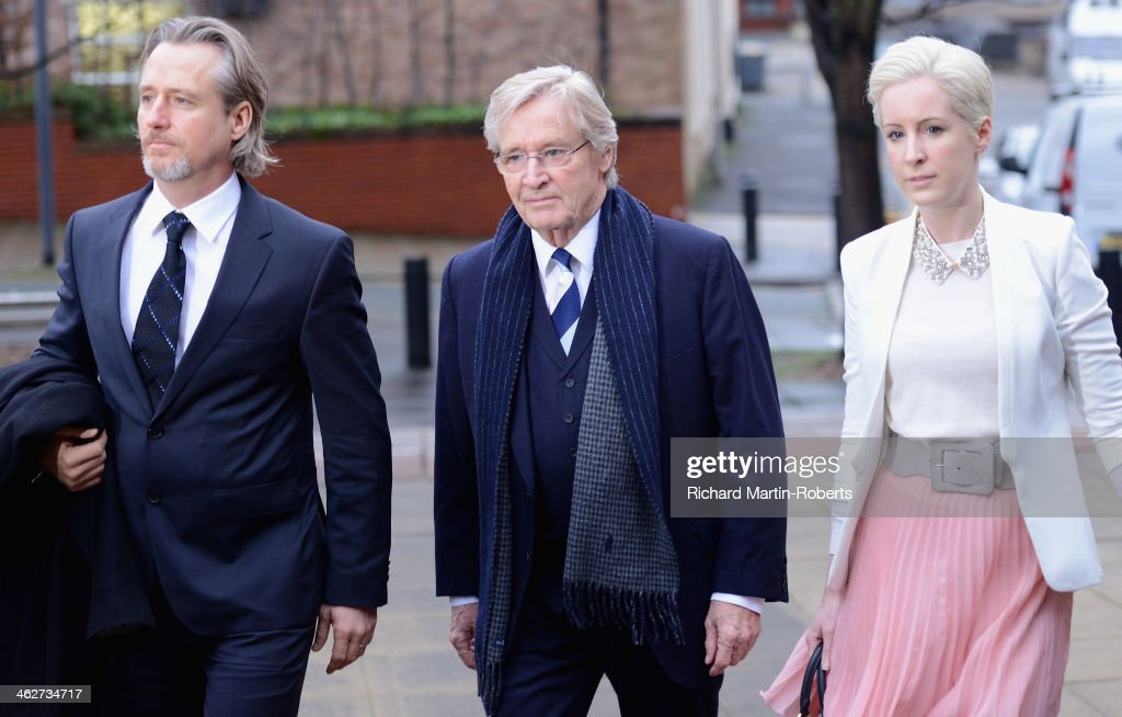 William Roache Attends Preston Crown Court