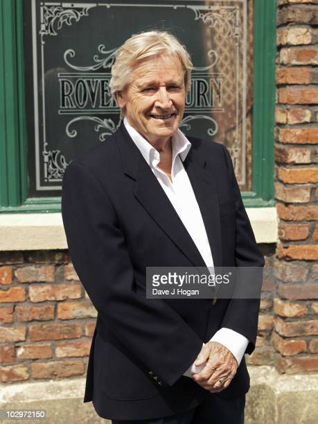 Actor William Roache poses for a portrait shoot in Manchester on July 8 2010