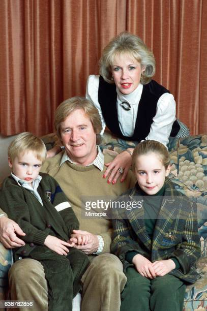 Actor William Roache with his wife Sarah and their children James and Verity 1st November 1989