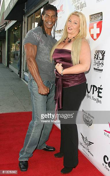 Actor William Romeo and Actress Robin Coleman attend The Grand Opening of Pupe At New York New York on June 1 2008 in Los Angeles California