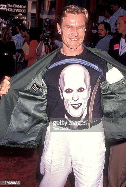 """Actor William Sadler attends the """"Bill & Ted's Bogus Journey"""" Hollywood Premiere on July 11, 1991 at the Mann's Chinese Theatre in Hollywood,..."""