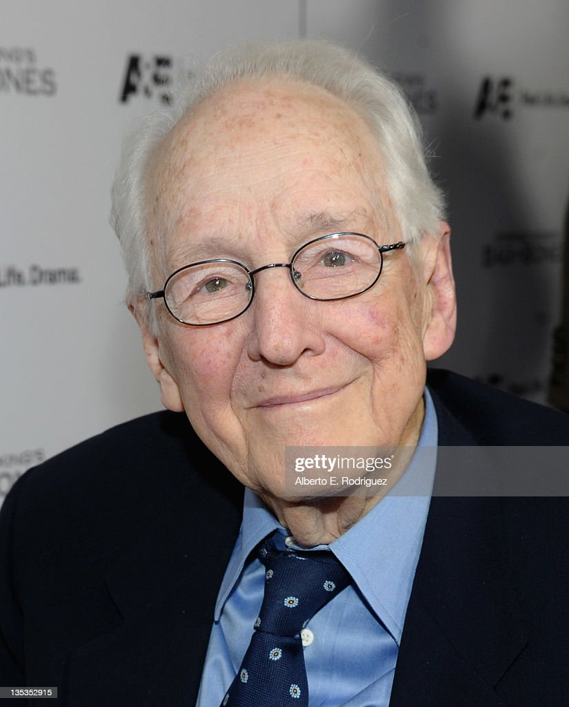 Actor William Schallert attends A&E's premiere party event for Stephen King's 'Bag of Bones' at Fig & Olive Melrose Place on December 8, 2011 in West Hollywood, California.