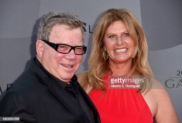 Actor William Shatner and Elizabeth Shatner attend The Los Angeles Philharmonic 2015/2016 Season Opening Night Gala at the Walt Disney Concert Hall...