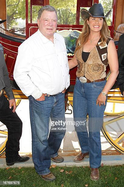Actor William Shatner and his wife Elizabeth Shatner attend the 23rd Annual William Shatner Pricelinecom Hollywood Charity Horse Show at Los Angeles...