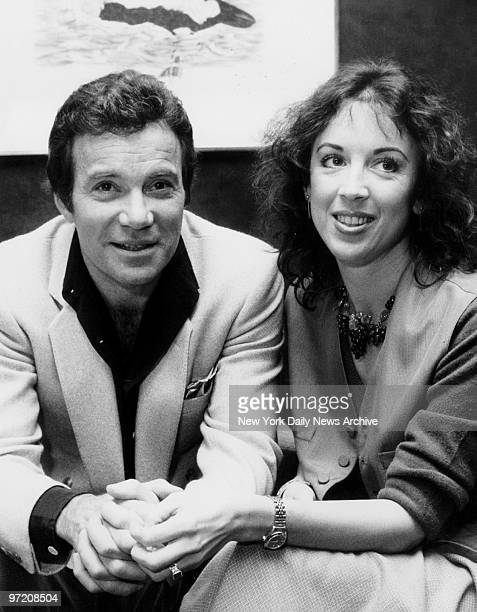 Actor William Shatner and his wife Marcy Lafferty at the Carlyle Hotel