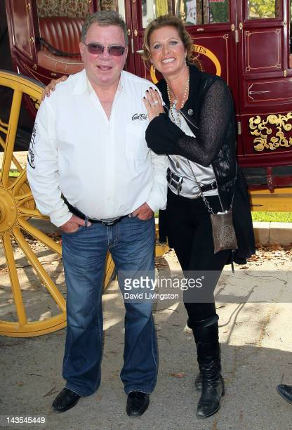 Actor William Shatner and wife Elizabeth Shatner attend the 22nd Annual Pricelinecom Hollywood Charity Horse Show sponsored by Wells Fargo at the Los...