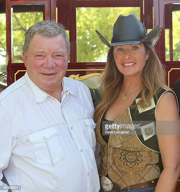Actor William Shatner and wife Elizabeth Shatner attend the 23rd Annual William Shatner Priceline Hollywood Charity Horse Show at the Los Angeles...