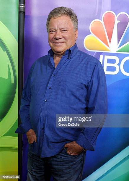 Actor William Shatner arrives at the 2016 Summer TCA Tour - NBCUniversal Press Tour Day 1 at The Beverly Hilton Hotel on August 2, 2016 in Beverly...