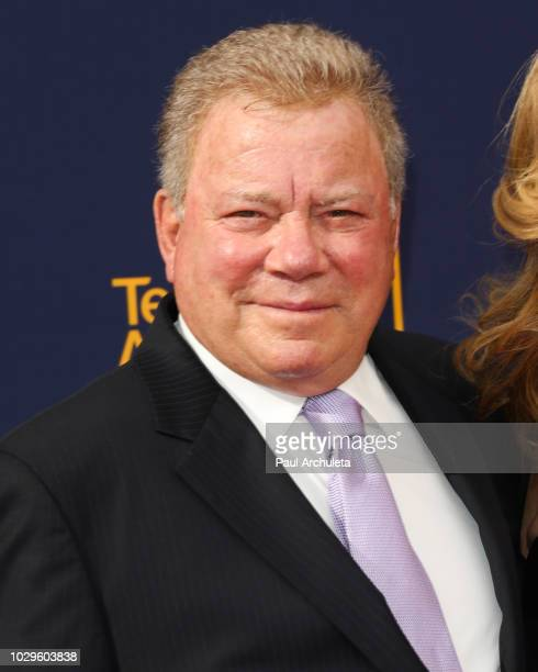 Actor William Shatner attends the 2018 Creative Arts Emmy Awards at Microsoft Theater on September 8, 2018 in Los Angeles, California.