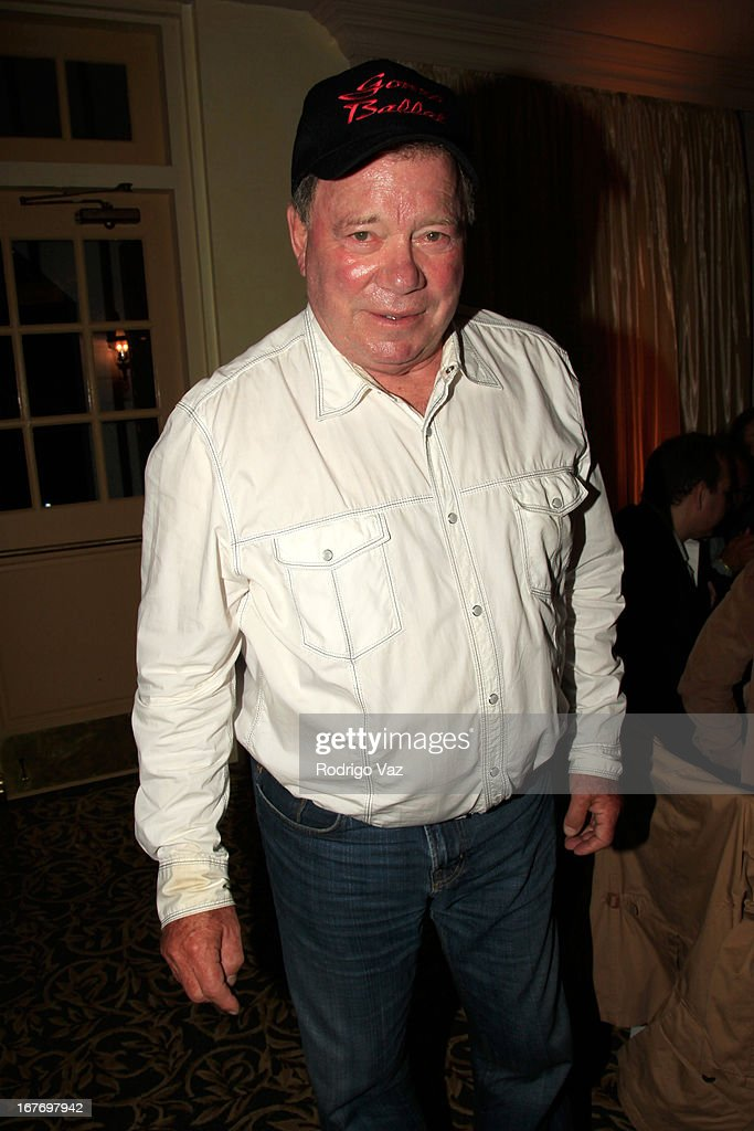 Actor William Shatner attends the 23rd Annual William Shatner Priceline.com Hollywood Charity Horse Show at Los Angeles Equestrian Center on April 27, 2013 in Los Angeles, California.