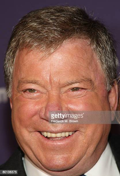 Actor William Shatner attends the Alzheimer's Association's 16th Annual A Night At Sardi's at the Beverly Hills Hotel on March 5 2008 in Beverly...