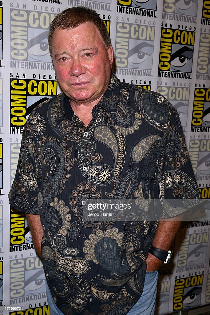 Actor William Shatner attends the Comedy Legends of TV Land press line Comic Con International 2013 at the Hilton San Diego Bayfront Hotel on July 18, 2013 in San Diego, California.