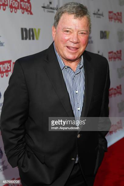 Actor William Shatner attends The Hollywood Christmas Parade Benefiting Toys For Tots Foundation on December 1, 2013 in Hollywood, California.