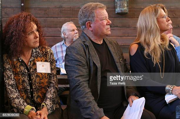 Actor William Shatner attends the William Shatner and Wells Fargo's breakfast gifting ceremony awarding funds from 2016 Pricelinecom Hollywood...