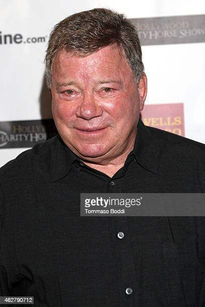 Actor William Shatner hosts annual Priceline.com Hollywood Charity Horse Show held at The Six Restaurant on February 5, 2015 in Studio City,...