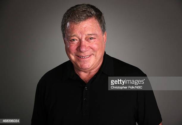 Actor William Shatner poses for a portrait during the NBCUniversal Summer Press Day at The Langham Huntington, Pasadena on April 2, 2015 in Pasadena,...