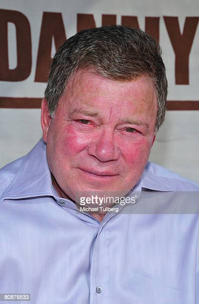 Actor William Shatner poses for the camera at his 18th Annual Hollywood Charity Horse Show held at the Los Angeles Equestrian Center on April 26 2008...