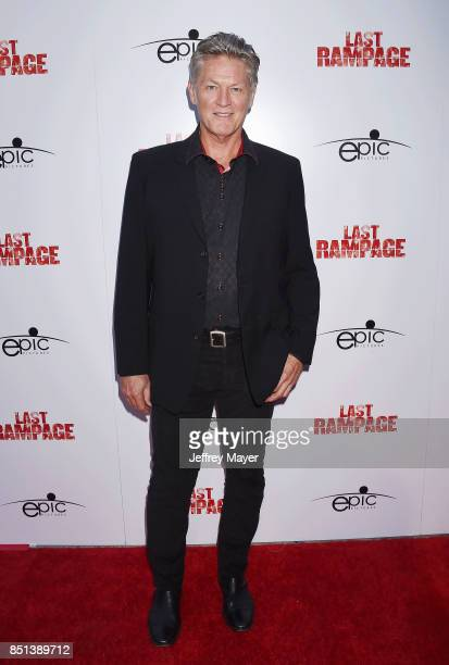 Actor William Shockley attends the Premiere Of Epic Pictures Releasings' 'Last Rampage' at ArcLight Cinemas on September 21 2017 in Hollywood...
