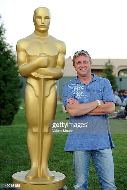 Actor William Zabka attends The Academy Of Motion Picture Arts And Sciences' Oscars Outdoors Screening Of Karate Kid on July 21 2012 in Hollywood...