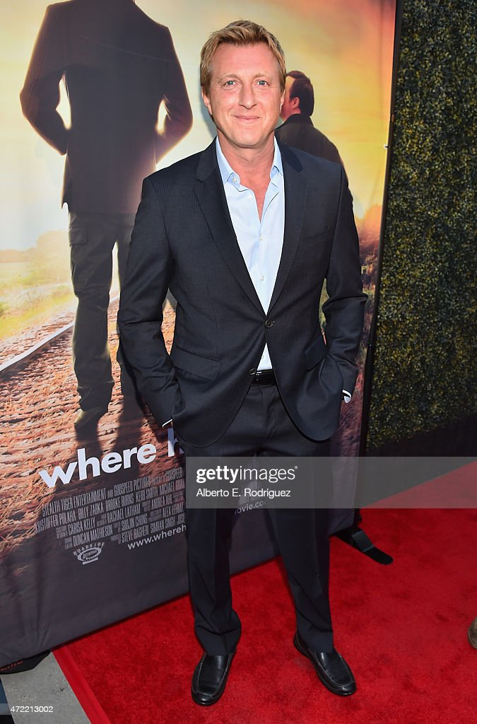Actor William Zabka attends the premiere of Roadside Attractions' & Godspeed Pictures' 'Where Hope Grows' at The ArcLight Cinemas on May 4, 2015 in Hollywood, California.