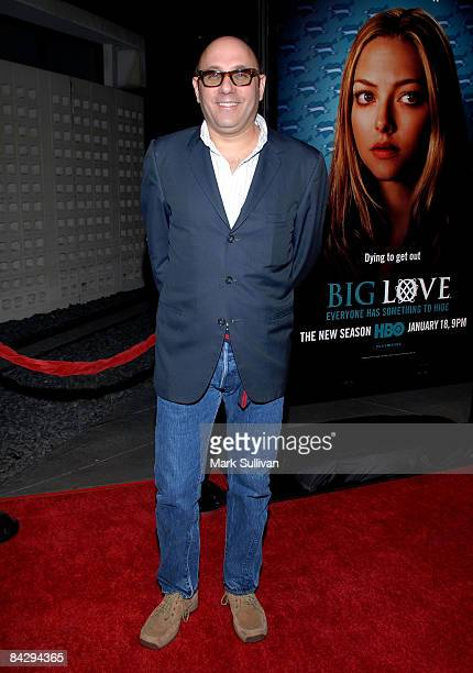 Actor Willie Garson arrives at the 3rd season Los Angeles premiere of Big Love at The Cinerama Dome on January 14 2009 in Hollywood California