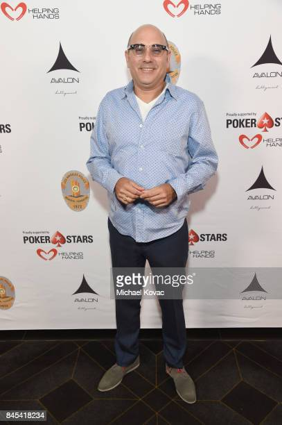 Actor Willie Garson at the Heroes for Heroes Los Angeles Police Memorial Foundation Celebrity Poker Tournament at Avalon on September 10 2017 in...