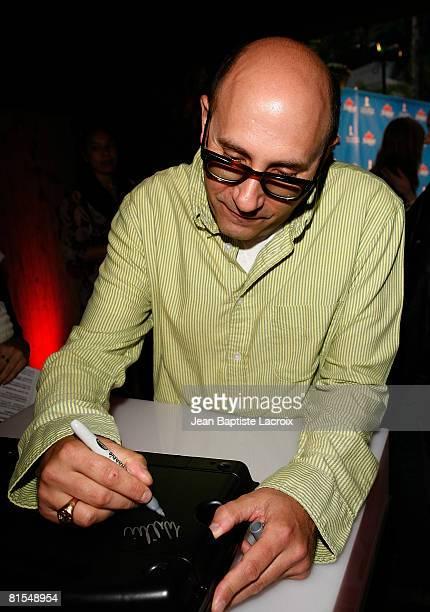Actor Willie Garson Scrabble Under The Stars to Benefit St Jude Children Hospital on June 12 2008 at The Goldstein Estate in Beverly Hills California