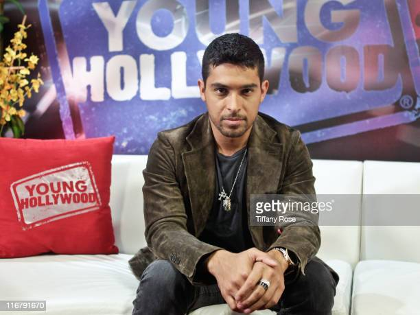Actor Wilmer Valdarrama visits YoungHollywood.com at the Young Hollywood Studio on June 17, 2011 in Los Angeles, California.